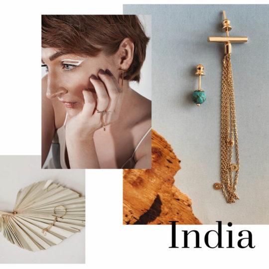 Іра Леван в образі SOVA - India