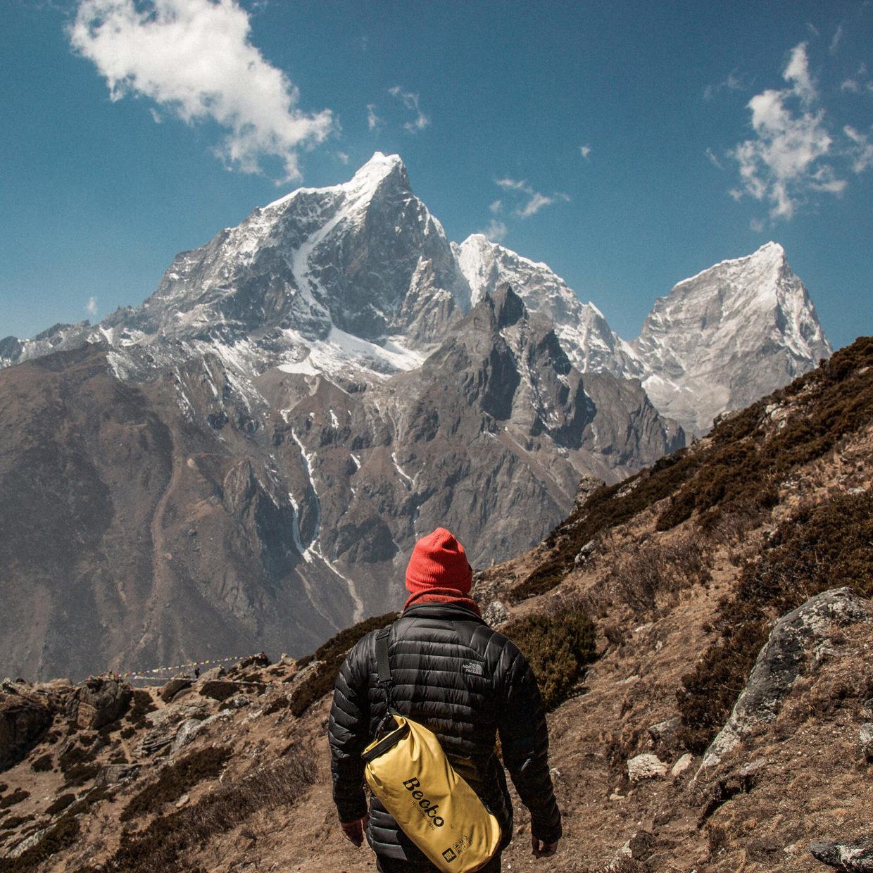 Чоловік та гори