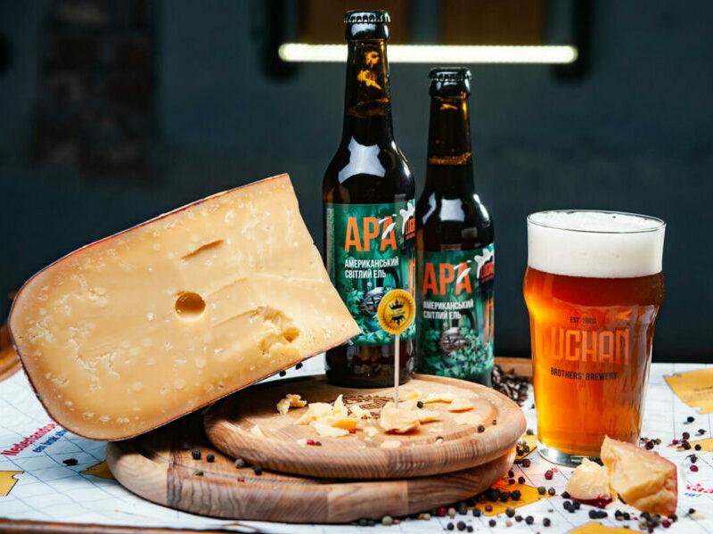 Пиво та сир