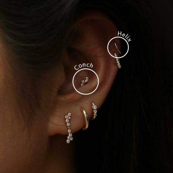 прокол вух