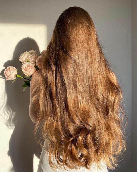довге волосся